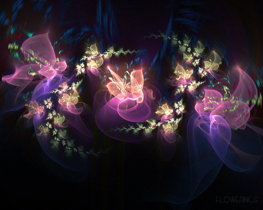 Сказочные цветы картинки 2