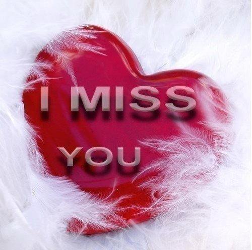 Ich vermisse meine Liebe
