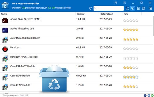 Wise Program Uninstaller 2.01 + Portable (PL)