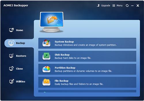 AOMEI Backupper Professional 4.0.4