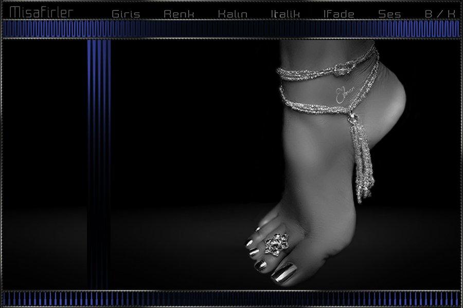 Şık Ayak Bayan Teması.Forum Fırtına.