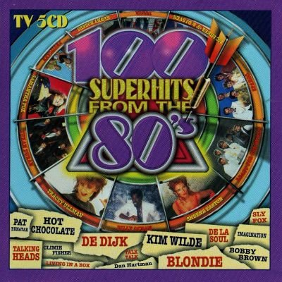 100 Superhits from the 80s Vol.1+2 (10 CD's)